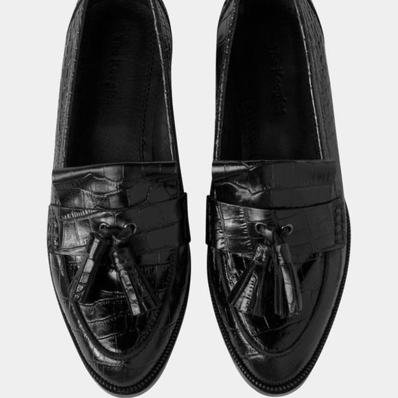 b4770a3891 The Kooples Shoes | Nib Croco Leather Loafers | Poshmark